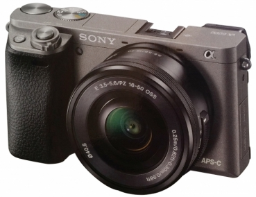 Sony Alpha 6000L16-50 mm graphit